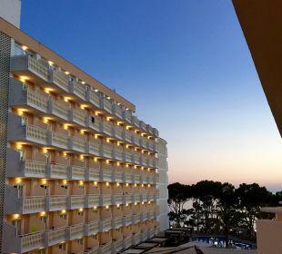 ..von unserem Balkon Universal Hotel Lido Park
