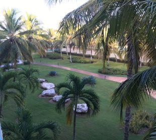 Vom Balkon aus Dreams La Romana Resort & Spa