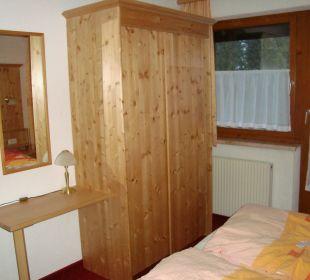 Tür zum Balkon Apartment Brandau