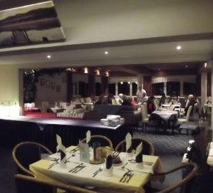 Une des salles restaurant Hotel Edelweiß