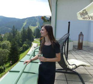 Ausblick Hotel Panhans