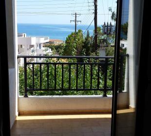Blick aus dem Zimmer Hotel Dimitra