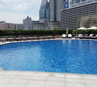 Großer Pool Hotel InterContinental Hong Kong