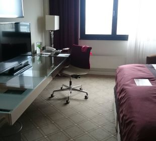 Moderne Zimmereinrichtung Hotel The Westin Leipzig