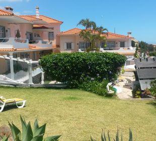 Blick auf die Anlage Villa Opuntia