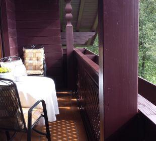Balkon Wohnung Sonnenschein Wohlfühl-Ferienwohnung Fritz Bodenmais