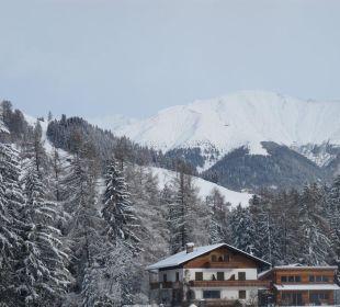 Die Berge im Winter Hotel Hubertushof