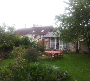The garden B&B Aux Rives de Honfleur