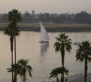 Blick vom Balkon Achti Resort Luxor