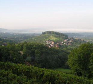 Blick ins Tal Hotel Burg Windeck