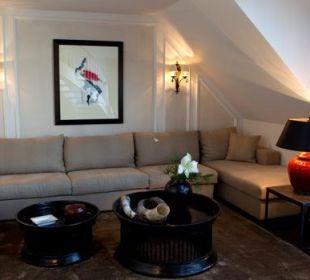 Präsidenten Suite Wohnbereich Hotel München Palace