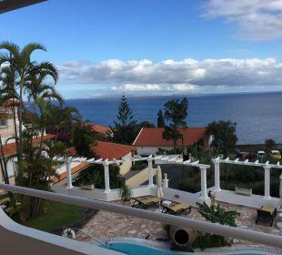 Meerblick von unserem Balkon Villa Opuntia