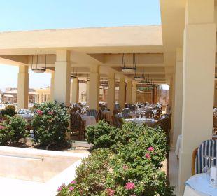 Außenbereich Hauptrestaurant