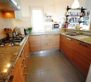 Grosszügige Küche Wg PANORAMA Holiday Residence Rifugio