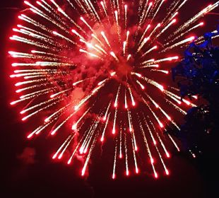 Gala Night Feuerwerk  Club Aldiana Zypern