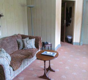 Sorgt für Gemütlichkeit Hotel Forsthaus Damerow