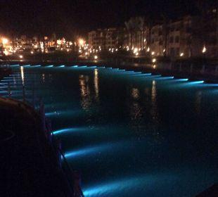 Abendstimmung mit Blick auf Lagune  Dana Beach Resort