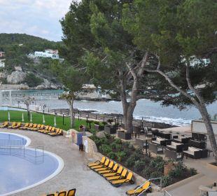 Ausblick vom Balkon Zimmer 208 Olimarotel Gran Camp de Mar