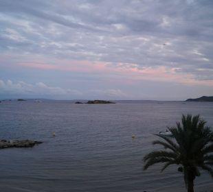 Figuretes am Abend Hotel Ibiza Playa