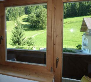 Ausblick aus dem Zimmer Hotel Klausen