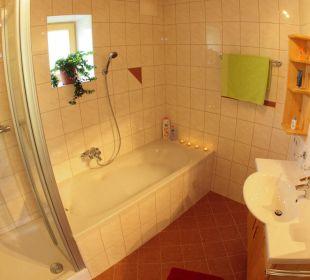 Badezimmer Ferienhof Oberreit
