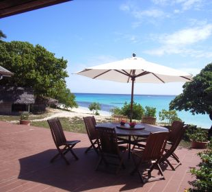 Nachmittagskaffee mit Traumblick Sandy Beach Resort Tonga