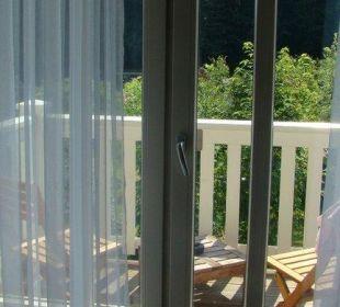 Balkon Raum 22 Hotel Pension Bellevue