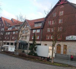 Hotel mit Eingangsbereich HKK Hotel Wernigerode