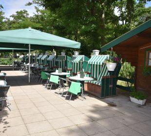 Gartenanlage Hotel John Brinckman