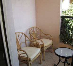 Kleiner Balkon Steigenberger Hotel Nile Palace