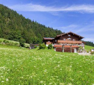 Hausansicht Haus der Berge