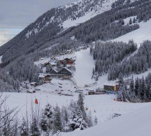 Blick zum Hotel Hotel Lamark
