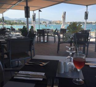 Terasse mit Meerblick Intertur Hotel Hawaii Ibiza