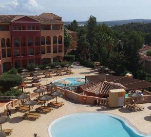 Blick vom Zimmer  Hotel Don Antonio