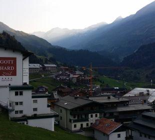 Vom Balkon Hotel Bellevue & Austria