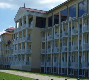 Außenansicht des Hotels Morada Strandhotel Ostseebad Kühlungsborn