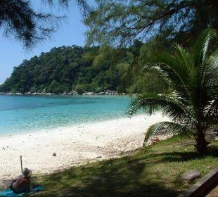 Strand beim Perhentian Island Resort