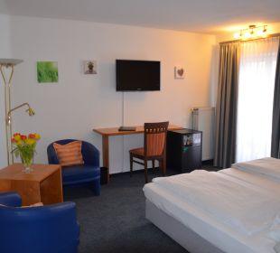 Doppelzimmer  Hotel Deutscher Kaiser im Centrum
