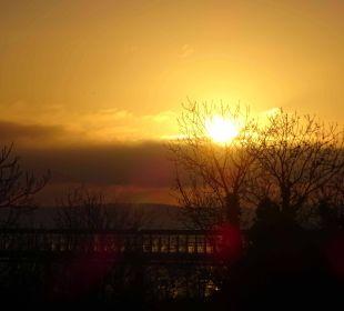 Sonnenaufgang am letzten Tag !! , gesehen vom Balk Maritim Hotel Kaiserhof Heringsdorf