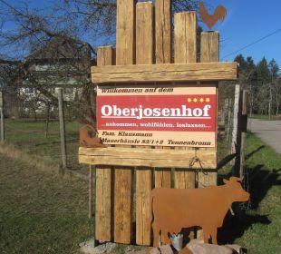 Hof-Schild Oberjosenhof Ferienbauernhof Oberjosenhof