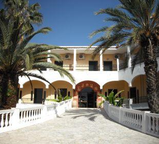 Der Hoteleingang - ein erster wunderbarer Eindruck Hotel Paradise Corfu