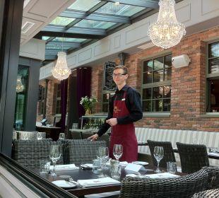 Unsere neue Brasserie mit Wintergarten Europa Hotel Kühlungsborn