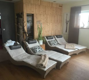 Ruhebereich Sauna Landhotel Brandlhof