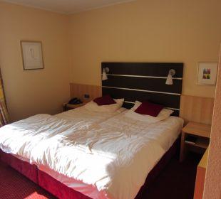 Schlafbereich Hotel Uhu Köln