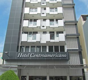 Fachada Hotel Centroamericano