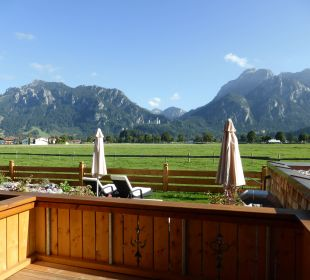 Blick vom Zimmer Hotel Das Rübezahl