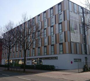 Hotelaußenansicht prizeotel Bremen-City