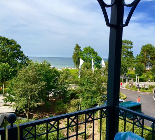Ausblick vom Balkon Grand Hotel Binz by Private Palace Hotels & Resorts
