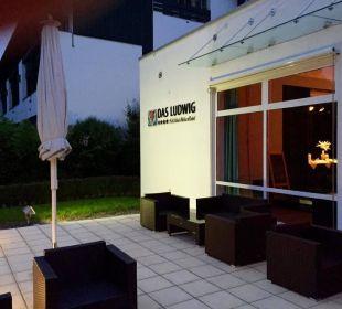 Rückwärtig Quellness Golf Resort - Das Ludwig