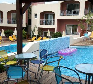 Blick von der Poolbar  Eurohotel Katrin Hotel & Bungalows